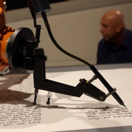 The Big Picture: A Robot writing the Torah in longhand