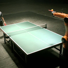 Robots Playing Ping Pong: What's Real, and What's Not?