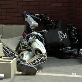 DARPA Robotics Challenge: A Compilation of Robots Falling Down