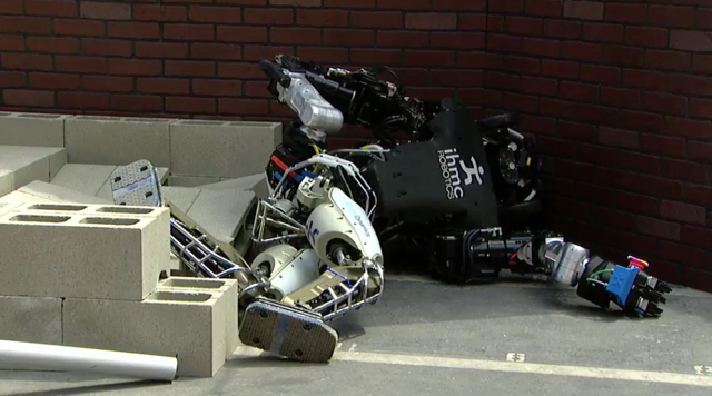DARPA Robotics Challenge: A Compilation of Robots Falling Down